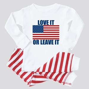 Love it or Leave it Baby Pajamas