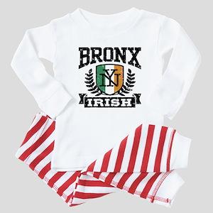 Bronx NY Irish Baby Pajamas