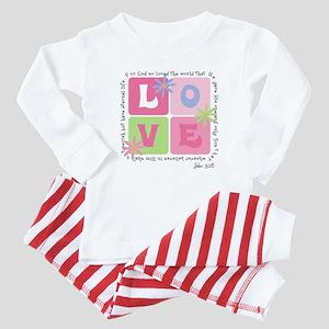John 3:16 Baby Pajamas