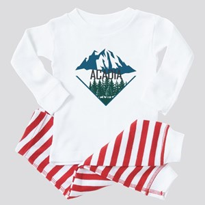 Acadia - Maine Baby Pajamas