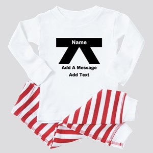 Black Belt Baby Pajamas