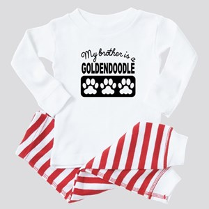My Brother Is A Goldendoodle Baby Pajamas