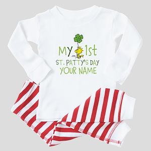 Peanuts - My 1st St. Patty's Baby Pajamas