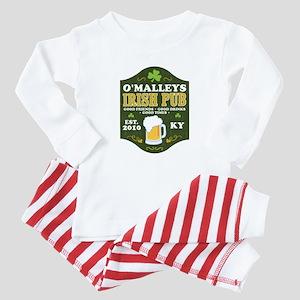Irish Pub Personalized Baby Pajamas