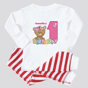 Baby First Birthday Cute Baby Pajamas