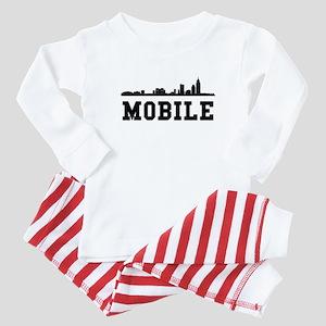 Mobile AL Skyline Baby Pajamas