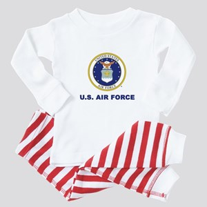 U.S Air Force with Seal Baby Pajamas