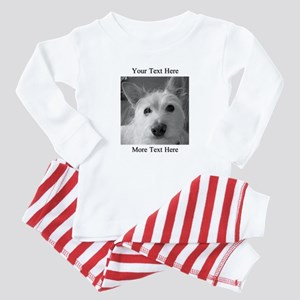 Your Text and Your Photo Here Baby Pajamas