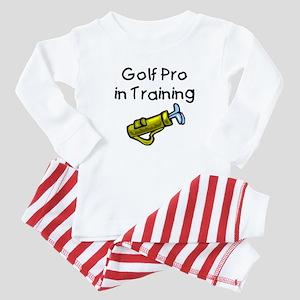 Golf Pro in Training Baby Pajamas