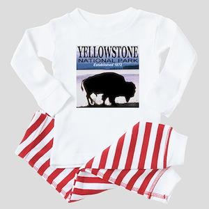 Yellowstone NP Established 18 Baby Pajamas