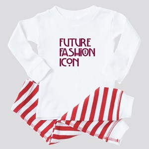 """Future Fashion Icon"" Baby Pajamas"
