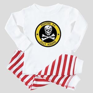 VF-84 Jolly Rogers Baby Pajamas