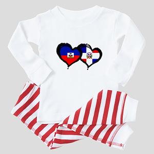 Haiti X Dominican Republic Baby Pajamas