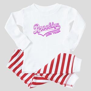 Brooklyn New York Baby Pajamas