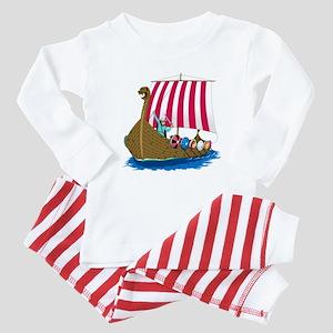 Viking Ship Baby Pajamas