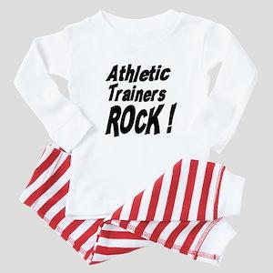 Athletic Trainers Rock ! Baby Pajamas