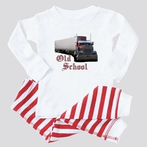 Old School Baby Pajamas