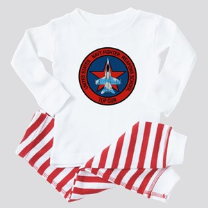 US Navy Fighter Weapons Schoo Baby Pajamas