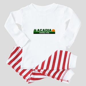 Acadia National Park Baby Pajamas