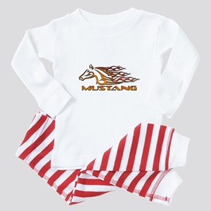 Mustang Tribal Baby Pajamas