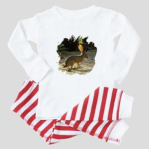 Texas Jackolope Baby Pajamas