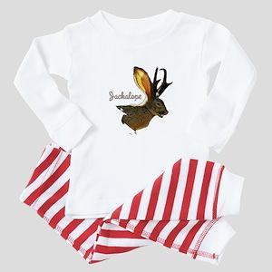 Jackalope Baby Pajamas