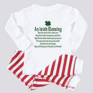 Irish Blessing Baby Pajamas