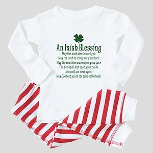 Irish Blessing Baby Pajamas