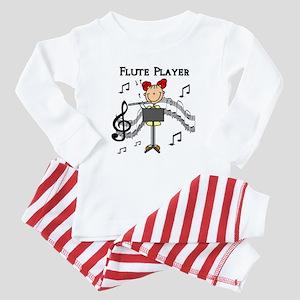 Flute Player Baby Pajamas