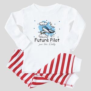 Future pilot like Daddy Baby Pajamas