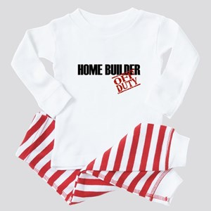 Off Duty Home Builder Baby Pajamas