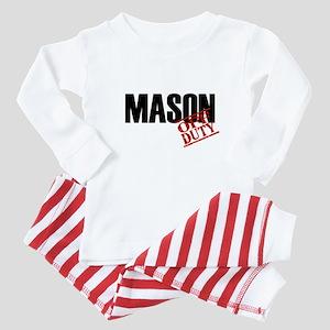 Off Duty Mason Baby Pajamas