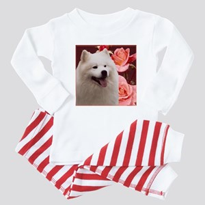 Rosy Samoyed Sammy Baby Pajamas
