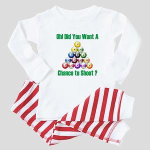 Chance To Shoot Baby Pajamas