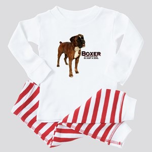 Boxer Dog Baby Pajamas