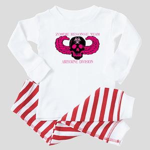 Pink ABN Zombie Baby Pajamas