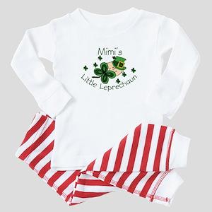 Mimi's Leprechaun Baby Pajamas