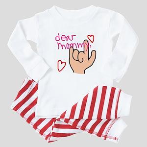 I Love You Baby Pajamas