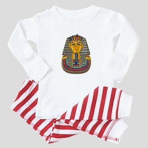 King Tut Mask #2 Baby Pajamas