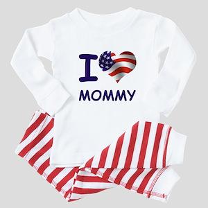 I LOVE MOMMY (USA) Baby Pajamas