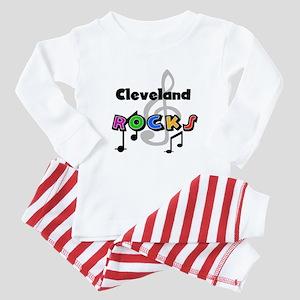 Cleveland Rocks Baby Pajamas