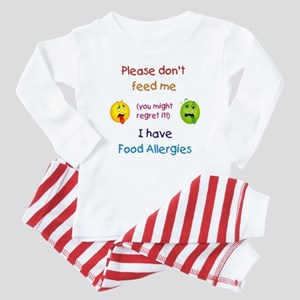 Don't Feed Me Baby Pajamas