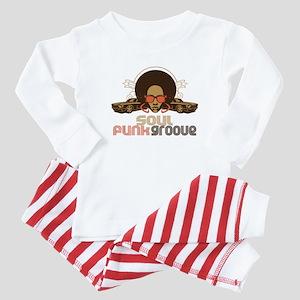 Soul Funk Groove Baby Pajamas