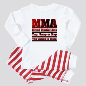 MMA Mixed Martial Arts - 3 Baby Pajamas