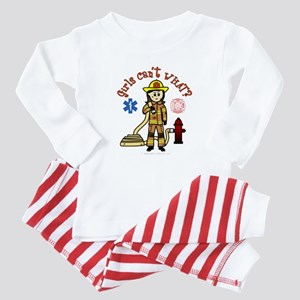 Custom Firefighter Baby Pajamas