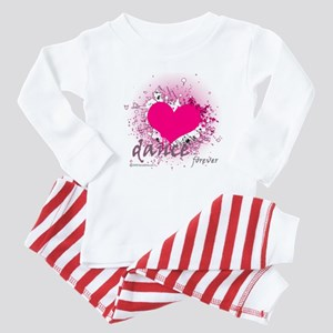 Love Dance Forever Baby Pajamas
