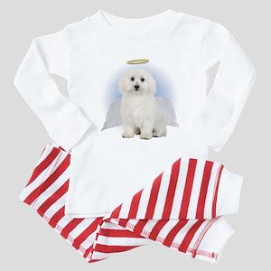Angel Bichon Frise Baby Pajamas