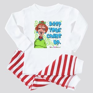 Keep Your Chins Up! Baby Pajamas