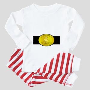 Light-Weight Champion Belt Baby Pajamas