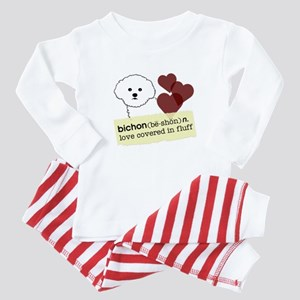 BichonDef1 Baby Pajamas